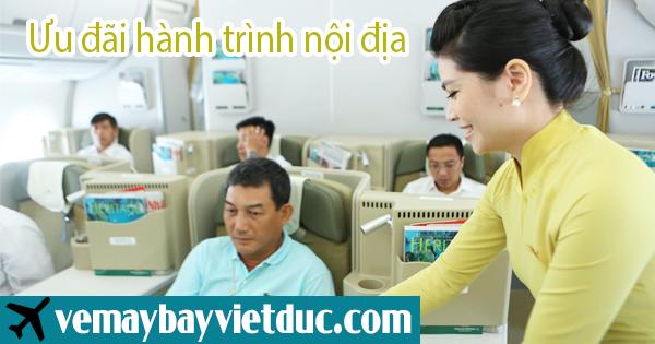Mua vé khuyến mãi bay đẳng cấp, giá cực thấp Vietnam Air lines mới nhất