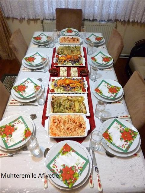 Ramazan da iftar sofrası