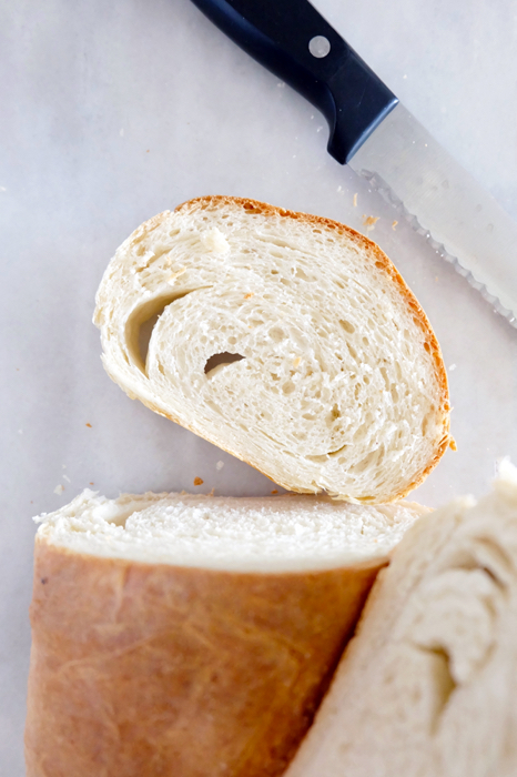 slice of French bread