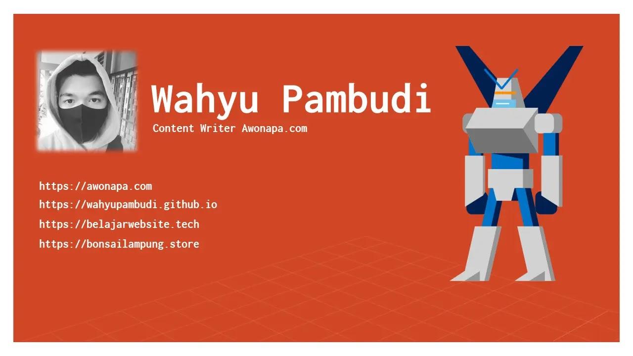 Wahyu Pambudi