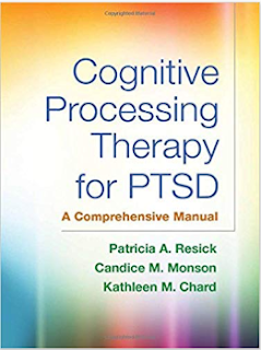 Post traumatic stress disorder treatment options Cognitive processing therapy
