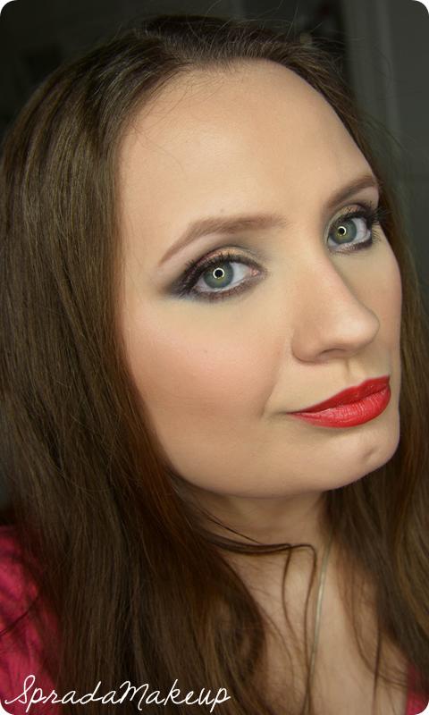 Spradamakeup Blog O Urodzie MakijaŻ Golden Night