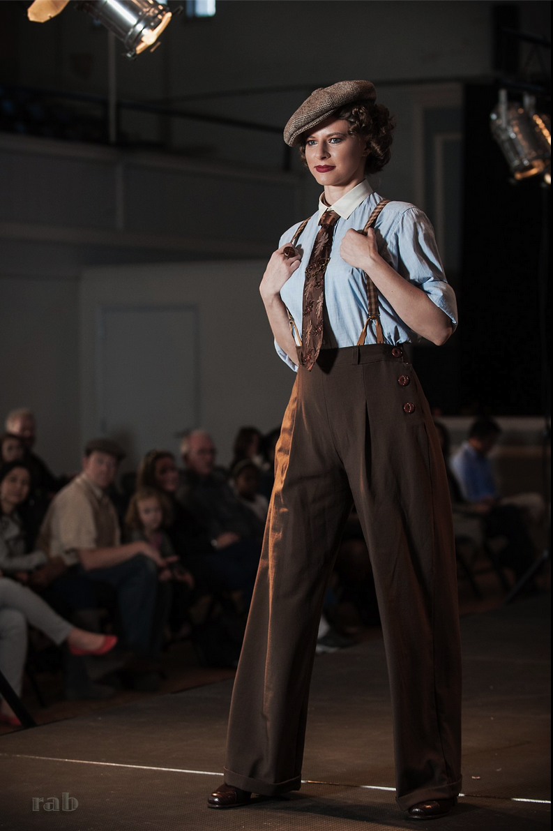 Vintage clothing shows
