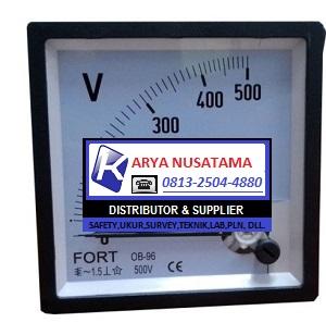Jual Type 0 - 500/5 A Volt Meter Analog di Pontianak