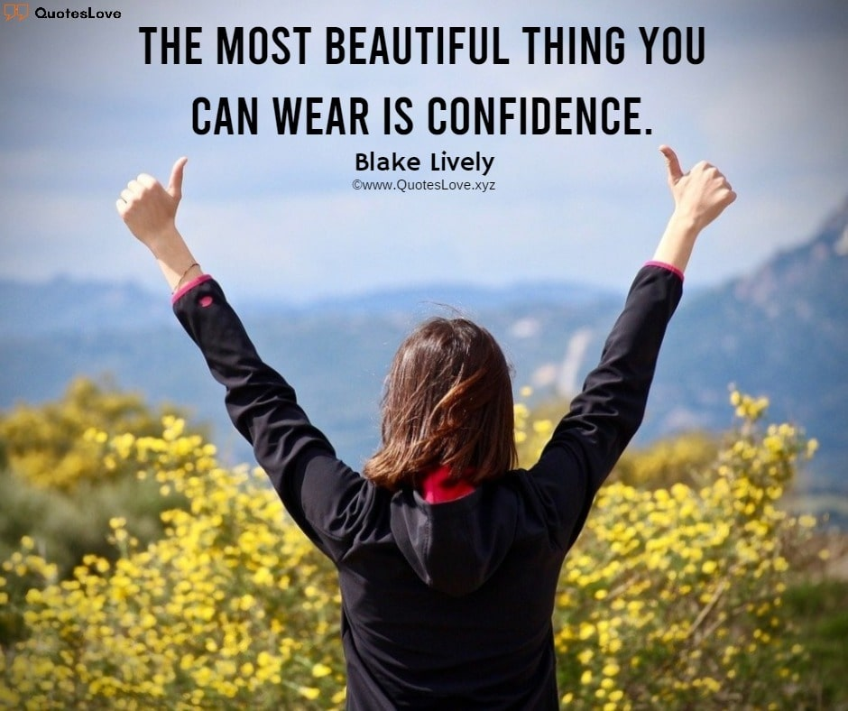 Confidence Quotes For Women & Girls