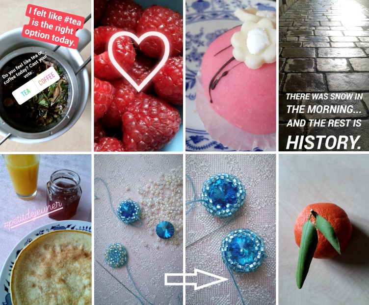 february 2018 instagram stories, georgiana quaint, valentine´s day, green tea
