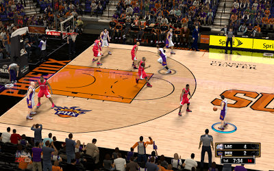 NBA 2K13 Phoenix Suns Court Update Patch