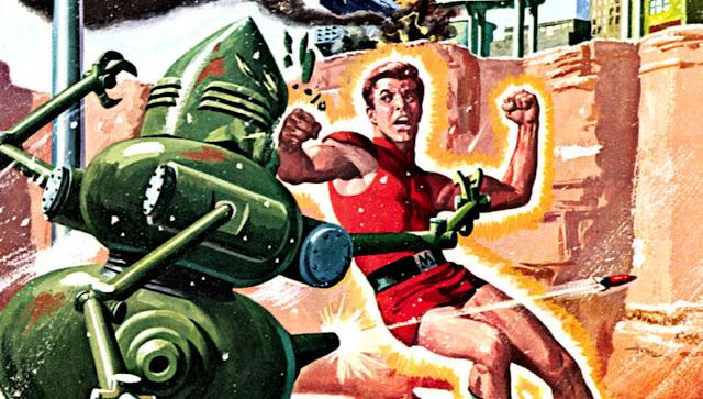 Baú de Revistas: MAGNUS, enfrenta os robos (1963)