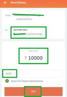 rs 50 cashback on paying rent Uisng freecharge upi