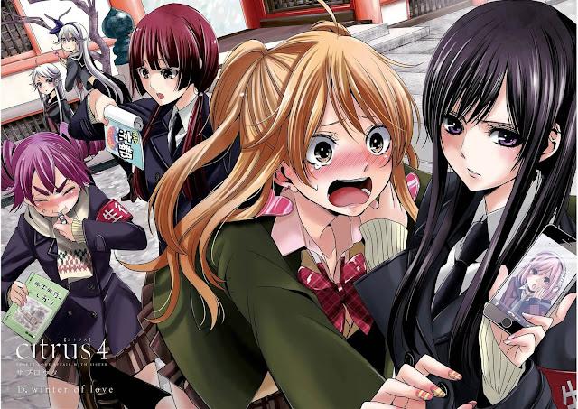 Anime yuri Citrus se estrenará el 6 de enero