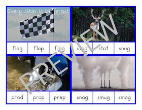 Montessori-inspired Intermediate Language Bundle Word Clip Cards
