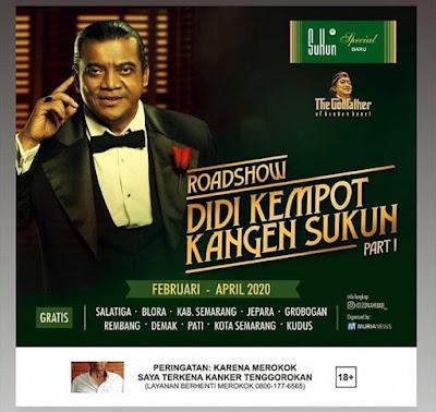 Konser Road Show Didi Kempot Kangen Sukun