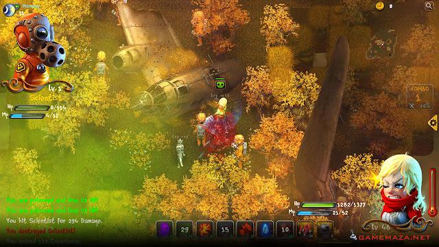 Dragon FIn Soup Gameplay Screenshot 3