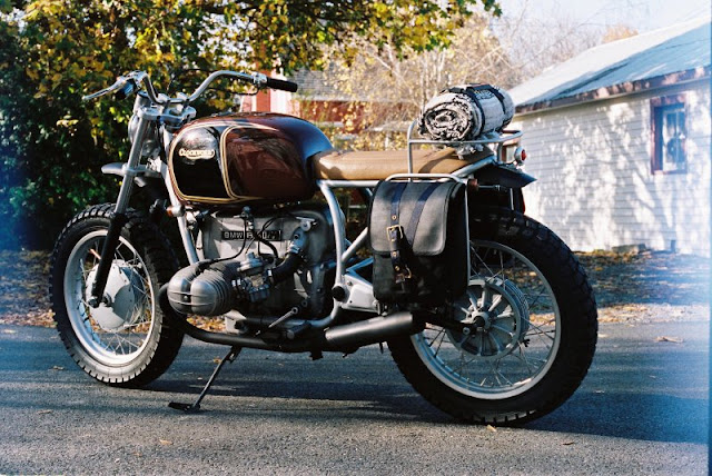 BMW R100 By Clockwork Motorcycles Hell Kustom