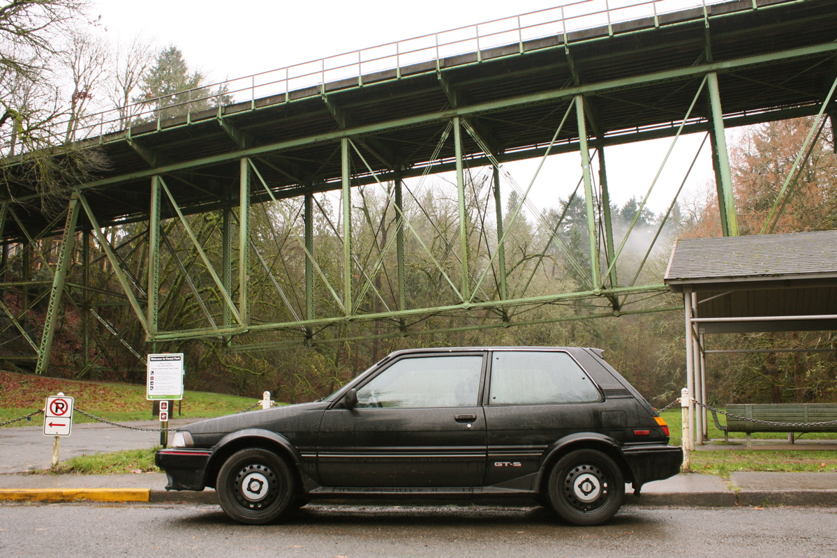 OLD PARKED CARS : A Christmas Miracle? Ben's 1987 Toyota