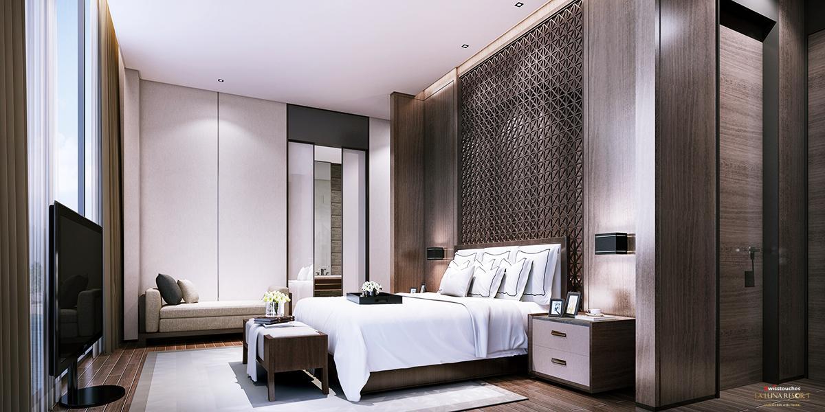 Phòng ngủ dự án La Luna Nha Trang