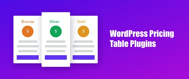 8 Effective & Useful WordPress Pricing Table Plugins For 2019