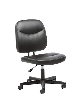 ergonomic adjustable leather office desk chair