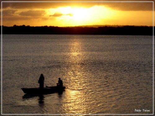 Pôr-do-sol em João Pessoa - PB