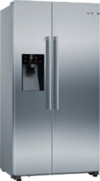 Bosch Amerikaanse koelkast met dispender en waterreservoir