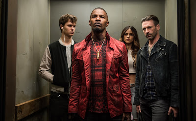 Baby Driver starring Jamie Foxx, Jon Hamm, Eiza Gonzalez and Ansel Elgort