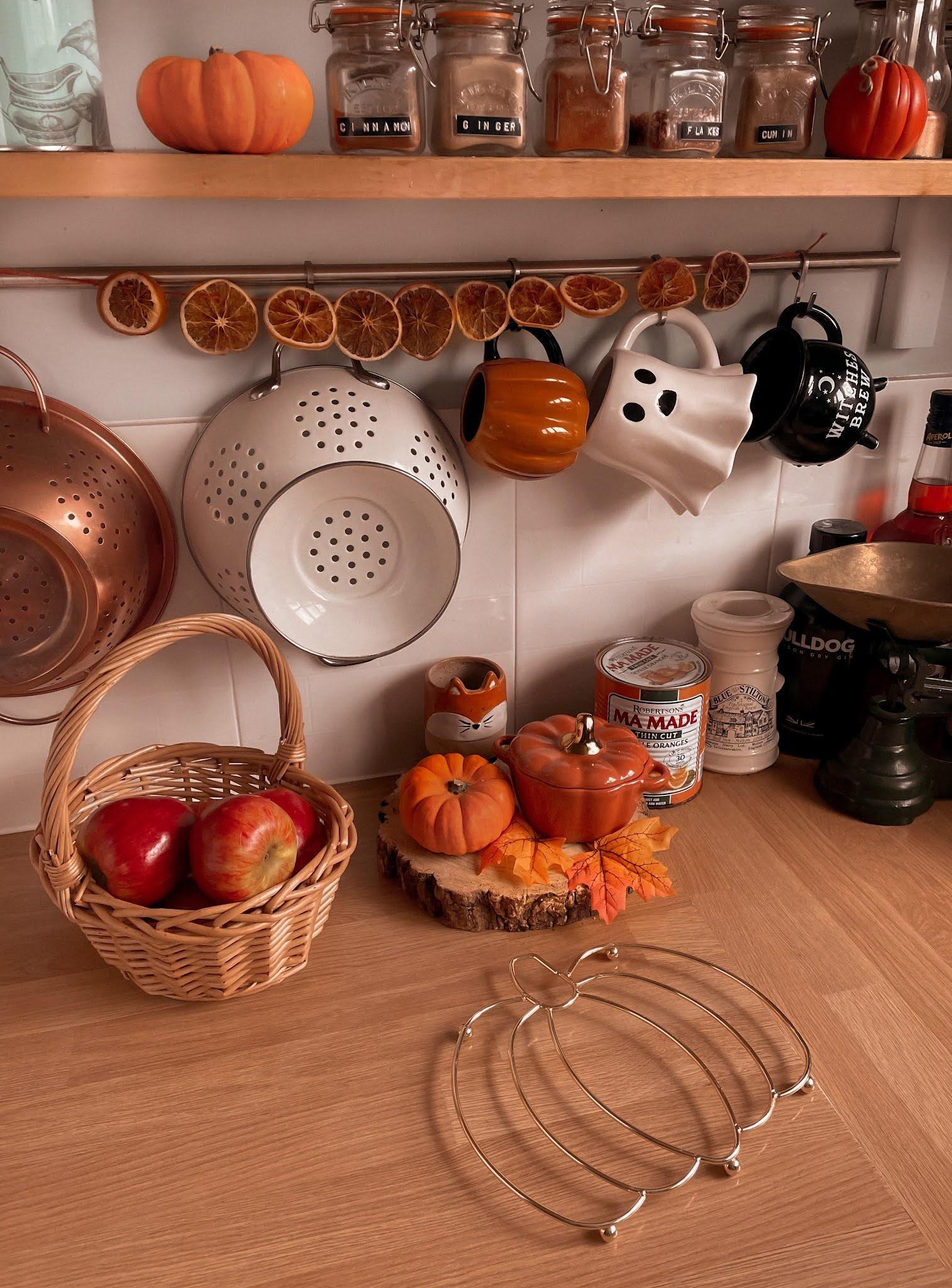 Autumn Fall Kitchen Decor Ideas