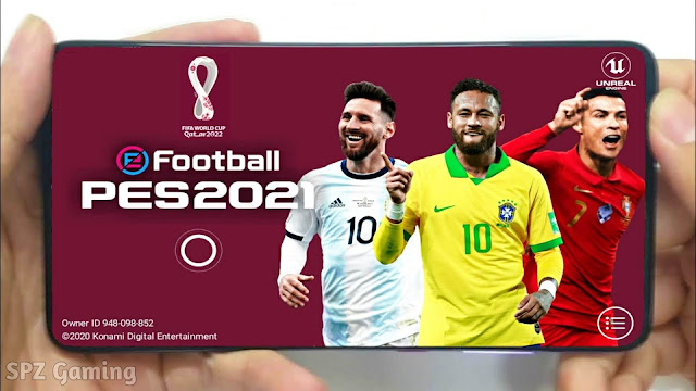 Download PES 2021 Mobile FIFA World Cup 2022 Patch Android Update