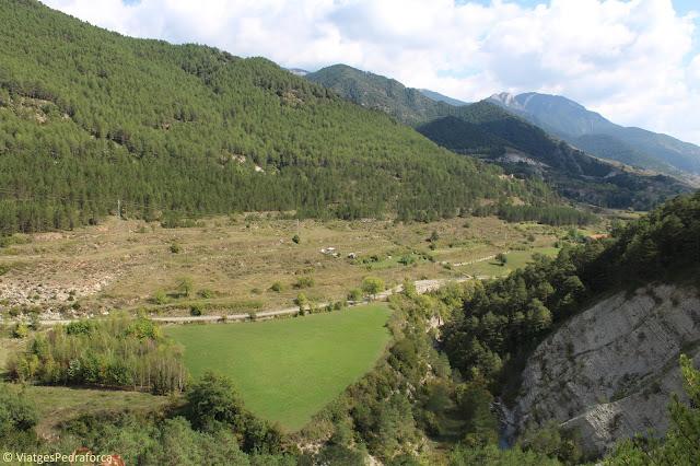 Via del Nicolau, Bagà, Parc natural del Cadí-Moixeró, Alt Berguedà, senderisme, rutes a peu per Catalunya