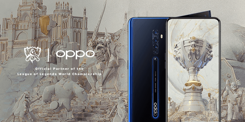 OPPO is the first global smartphone partner of League of Legends Esports