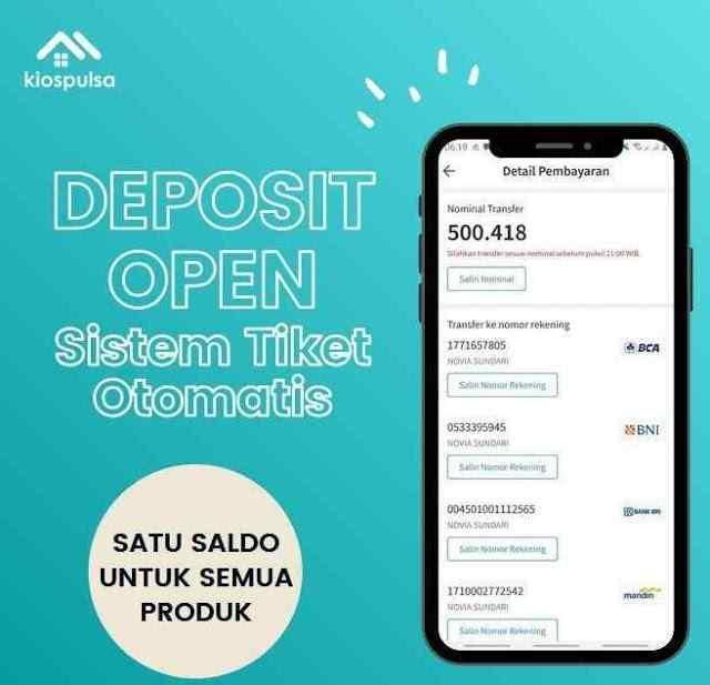 Jika Sudah Isi Deposit Kios Pulsa, Perhatikan Ini Sebelum Berjualan