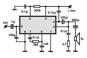 10W Audio Amplifier–TDA1010