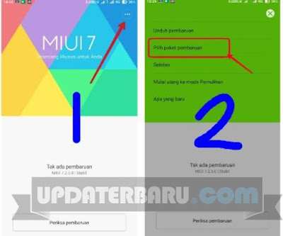 Cara Update Manual Xiaomi Redmi Note 3 PRO ke MIUI Versi 7.2.5.0
