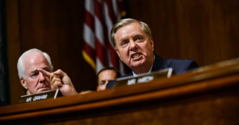 Furious Lindsey Graham  Accuses Democrats Of Aiming To 'Destroy' Kavanaugh's Life