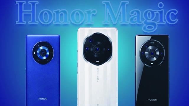 سعر و مواصفات سلسله هونر الجديده Honor Magic3
