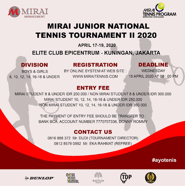 Mirai Junior National Tennis Tournament II