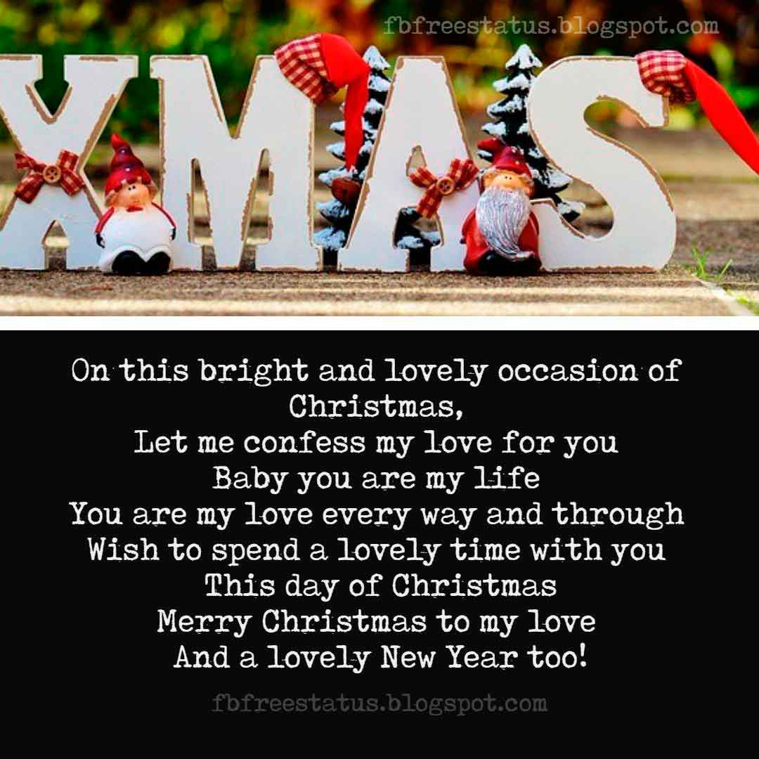 Love Christmas Quotes, Messages