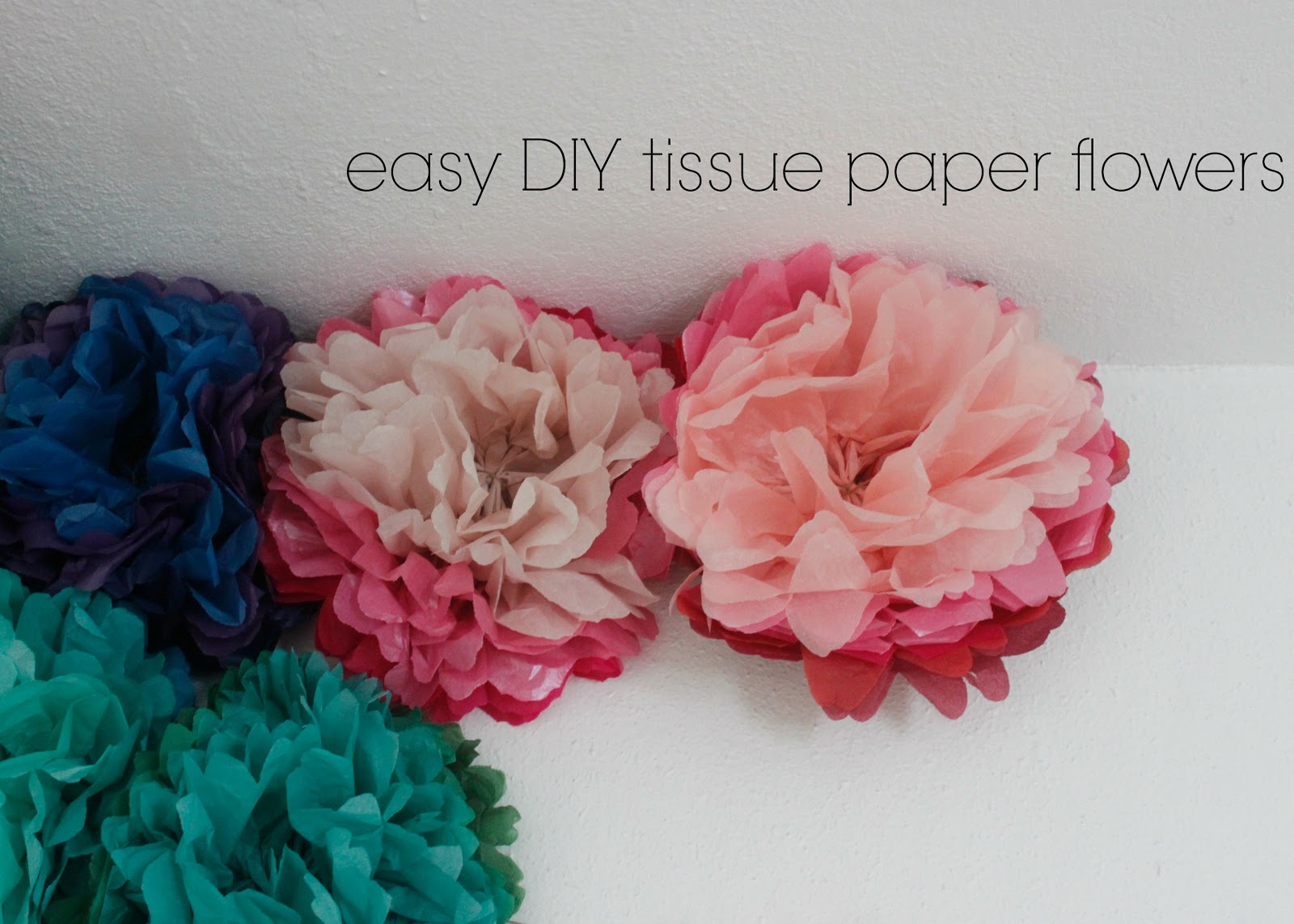Camp Patton Tissue Paper Flower Tutorial