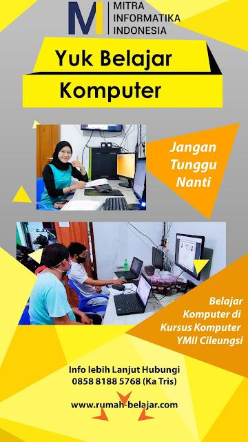 Kursus Jaringan Komputer di YMII Cileungsi