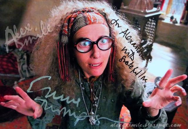 Emma Thompon Autograf autograph