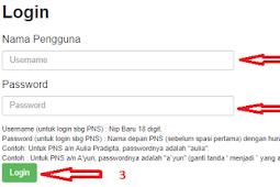 Cara Melihat Nilai Individu Indeks Profesionalitas PNS/ASN
