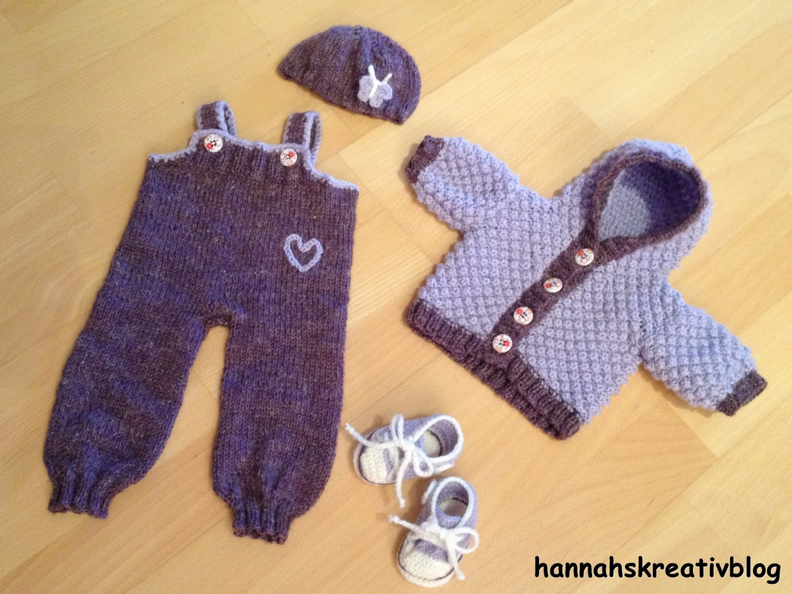 Hannahs Kreativblog: Puppenkleidung für Winter