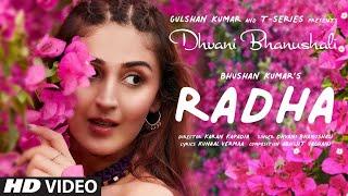 Radha song lyrics - Dhvani Bhanushali