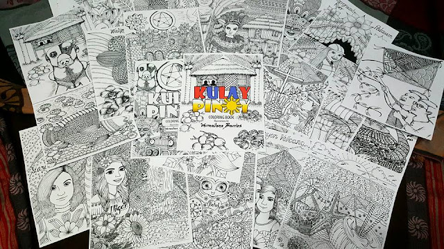 kulay pinoy coloring book