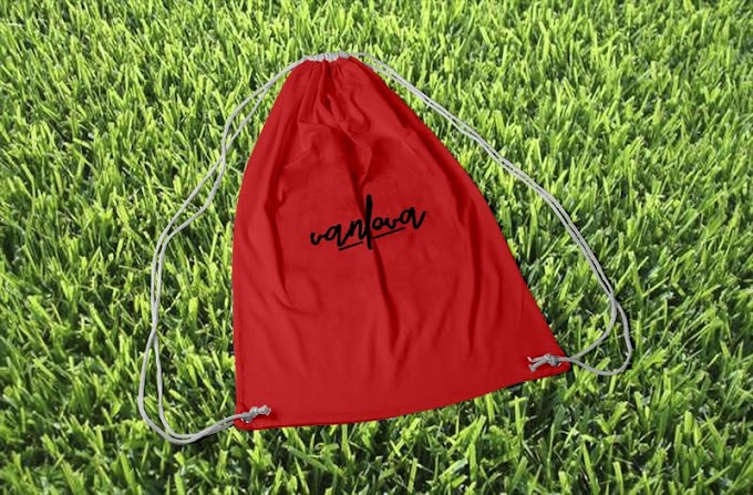 Red sport bag