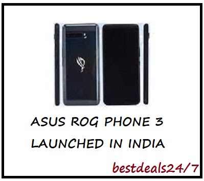 Asus ROG Phone 3 Launched in India