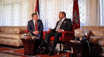 وسائل اعلام أردنية تثني على جلالة الملك محمد السادس حفظه ورعاه  كأول المتصلين بأخيه الملك عبد الله الثاني