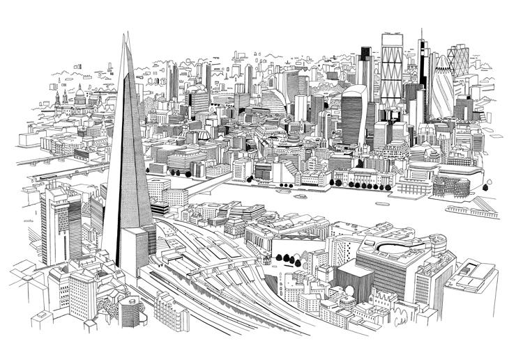 Chris Dent - Illustration Portfolio - City 2