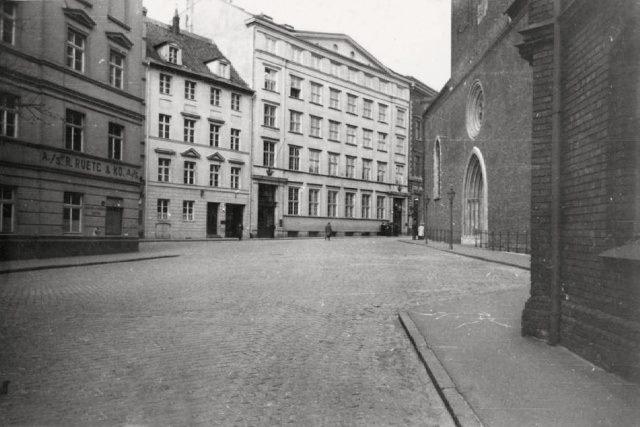 Рига. Домская площадь до 1936 года.