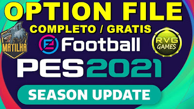 PES 2021 PS4 Compilation Option File RVGRAPHA