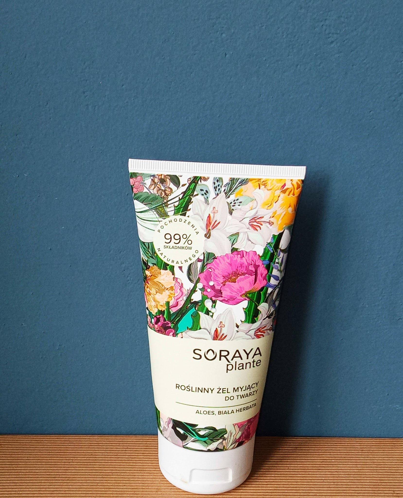 Roślinny żel myjący Soraya Plante